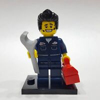 "LEGO Collectible Minifigure #8827 Series 6 ""MECHANIC"" (Complete)"