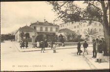 ALGERIE MASCARA CARTE POSTALE HOTEL DE VILLE