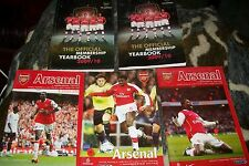 Arsenal book/programme job lot / bundle
