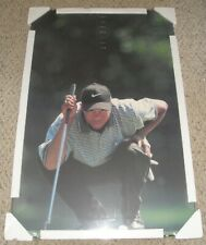 NEW SEALED AND MOUNTED TIGER WOODS 23X35 VTG 1997 NIKE THE EYES HAVE IT POSTER