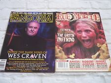 Rue morgue magazine september 2014 + fangoria 337 november wes craven