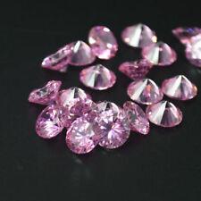 Gemas sueltas de zirconita o circonita color principal rosa sintético