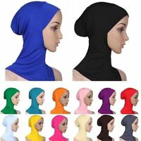 USEFUL Cotton Muslim Headscarf Inner Hijab Caps Islamic Under scarf Hijab Scarf