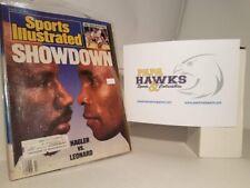 1987 March Sports Illustrated Hagler Leonard Boxing