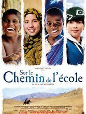 SUR LE CHEMIN DE L'ECOLE Affiche Cinéma / Movie Poster Pascal Plisson