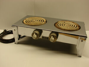 XX Rare!! Coleman Electric Hotplate Model 52!!