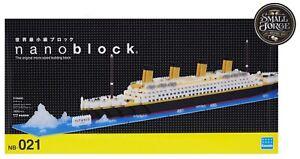 Nanoblock TITANIC, Challenger Deluxe Series, NB-021, 1800 Pieces, Level 5, NEW