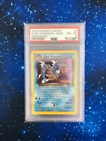 PSA 8 Dark Gyarados Prerelease Team Rocket Holo 8/82 Pokemon Near Mint WOTC 2000
