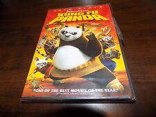 KUNG FU PANDA Jack Black Dreamworks Children's Classic Movie DVD Full Screen NEW