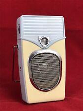 Replica Vintage Transistor Style AM/FM Radio Handheld Portable Retro Battery A++