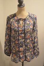Lucky Brand Blue Printed Long sleeves, XS