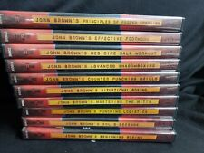 New listing Lot 10 Dvds John Brown Ringside Mastering the Mitts +Advanced Shadowboxing More
