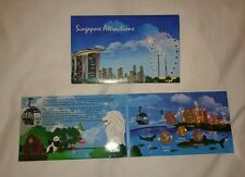 Singapore 2013 Third 3rd Series BU UNC Coins  Singapore Attractions Card Set
