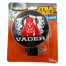 Star Wars Darth Vader & Troopers adjustable plug-in Night Light lamp w bulb NIP