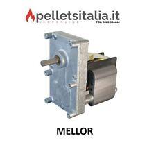 Motoriduttore Stufa a pellet, 1 rpm perno diam. 9,5 mm mellor, pacco lamellare