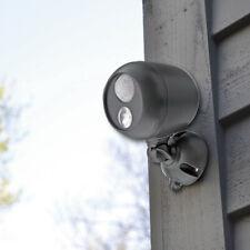 Brillar COB LED Motion Activated Spotlight 30 Feet Weatherproof Security Home