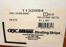 GBC Surebind - Strip per rilegatrice a pettine - 51mm