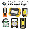 Portable LED Work Light Cordless Rechargeable / Battery Powered Working Lamp f