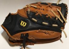 "Wilson Leather Baseball Glove Barry Bonds A2474 RHT Youth Advisory Staff 10 1/2"""