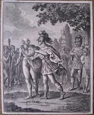 eau-forte et pointillé, Daniel Chodowiecki, illustration pour Coriolan, 1782