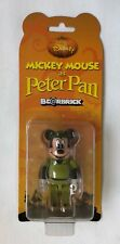 Medicom Bearbrick 100% Mickey Mouse as Peter Pan (Mint on Card)