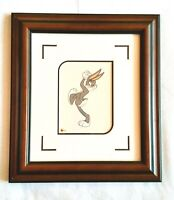Bugs Bunny Art, Looney Tunes Warner Bros, Princess Cruise Auction, Matted Framed