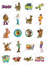 20 NAIL DECALS * SCOOBY DOO ASSORTMENT * WATER SLIDE NAIL ART DECALS