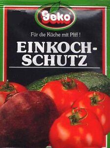 Einkochschutz - Konservierungsmittel 5 Beutel im Pack                   #5963/5+