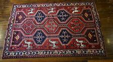 Qashqaai (Shiraaz) Tribal Hand Knotted Carpet Handmade Persian Rug -257x160 cm