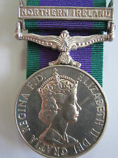 """British General Service Medal 1962 """"NORTHERN IRELAND"""" - Sjt. E.J. Carr RCT"""