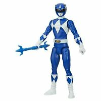 Mighty Morphin Blue Power Ranger Action Figure With Power Lance Accessory NEW ??