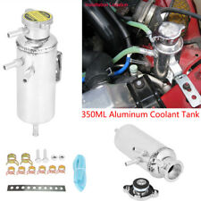 350ML Car Auto Overflow Catch Tank Radiator Water Coolant Aluminum Reservoir AP