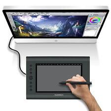 "Huion H610 Pro 10""x6.25"" USB Graphics Art Drawing Tablet Pad W/Board Digital Pen"