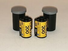 KODAK FILM  GOLD 200, 2 ROLLS GB135/24,  35MM FILM FOR COLOR PRINTS