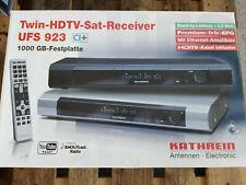 Kathrein UFS 923sw 1.000GB HD Festplatten-Recorder Schwarz