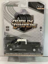 2019 Ford F-350 Lariat Florida Highway Patrol 1:64 Scale Greenlight 46030E