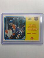 1982-83 O-Pee-Chee 1981-82 NHL Assist Leaders #240 Wayne Gretzky Edmonton Oilers