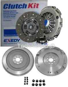 NEW FLYWHEEL AND EXEDY CLUTCH KIT, BOLTS, FOR TOYOTA COROLLA VERSO 2.2 D4D D-4D