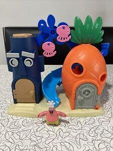 Imaginext SpongeBob SquarePants Bikini Bottom Playset Squidward House 2013 Toy