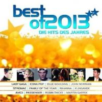 BEST OF 2013-DIE HITS DES JAHRES 2 CD NEU