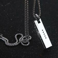 For Fitbit Flex 2 Bands Jewely Necklace Stainless Steel Accessory Pendant