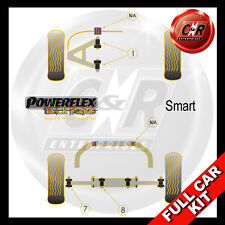 Smart Coupe (inc Brabus) (98-07) Powerflex Black Complete Bush Kit