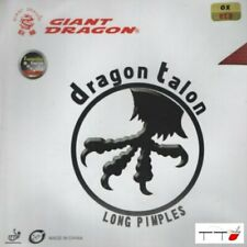 Giant Dragon Long Pips Table Tennis Rubber Talon OX