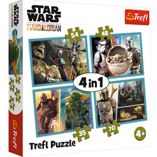 Star Wars The Mandalorian 4 in 1 Jigsaw Puzzle