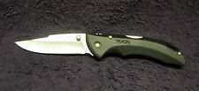 Buck 285 Black Bantam Folding Pocket Knife Thermoplastic Handle Lockback 420HC