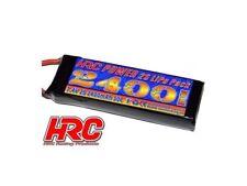 HRC Lipo Batterie 2s 7,4v 2400mah 50c trx-connecteur #hrc04224t
