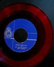 British Guiana BG Police Band & Choir 45 Vinyl Record Sitira Gal Sweet Mad'Line