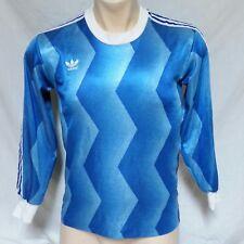 Vtg Adidas Goalie Jersey Soccer Futbol Trefoil Logo Trikot Olympics Shirt Small