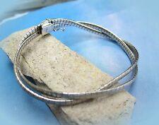 elegantes altes doppelreihiges armband 835 silber