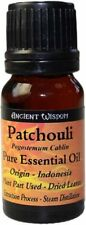 Patchouli  (Pure) Essential Oil 10ml Bottle Brand New and Sealed